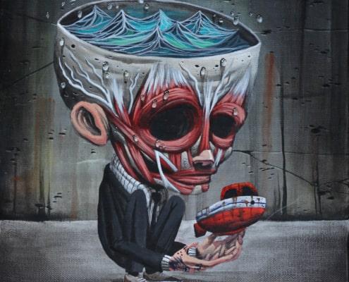 Nero Gallery Pop surrealism, pop surrealismo, pigneto, roma, nero gallery, galleria d'arte