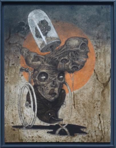 Nero Pop surrealism, pop surrealismo, pigneto, roma, nero gallery, galleria d'arte