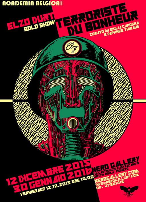 Elzo DurtPop surrealism, pop surrealismo, pigneto, roma, nero gallery, galleria d'arte